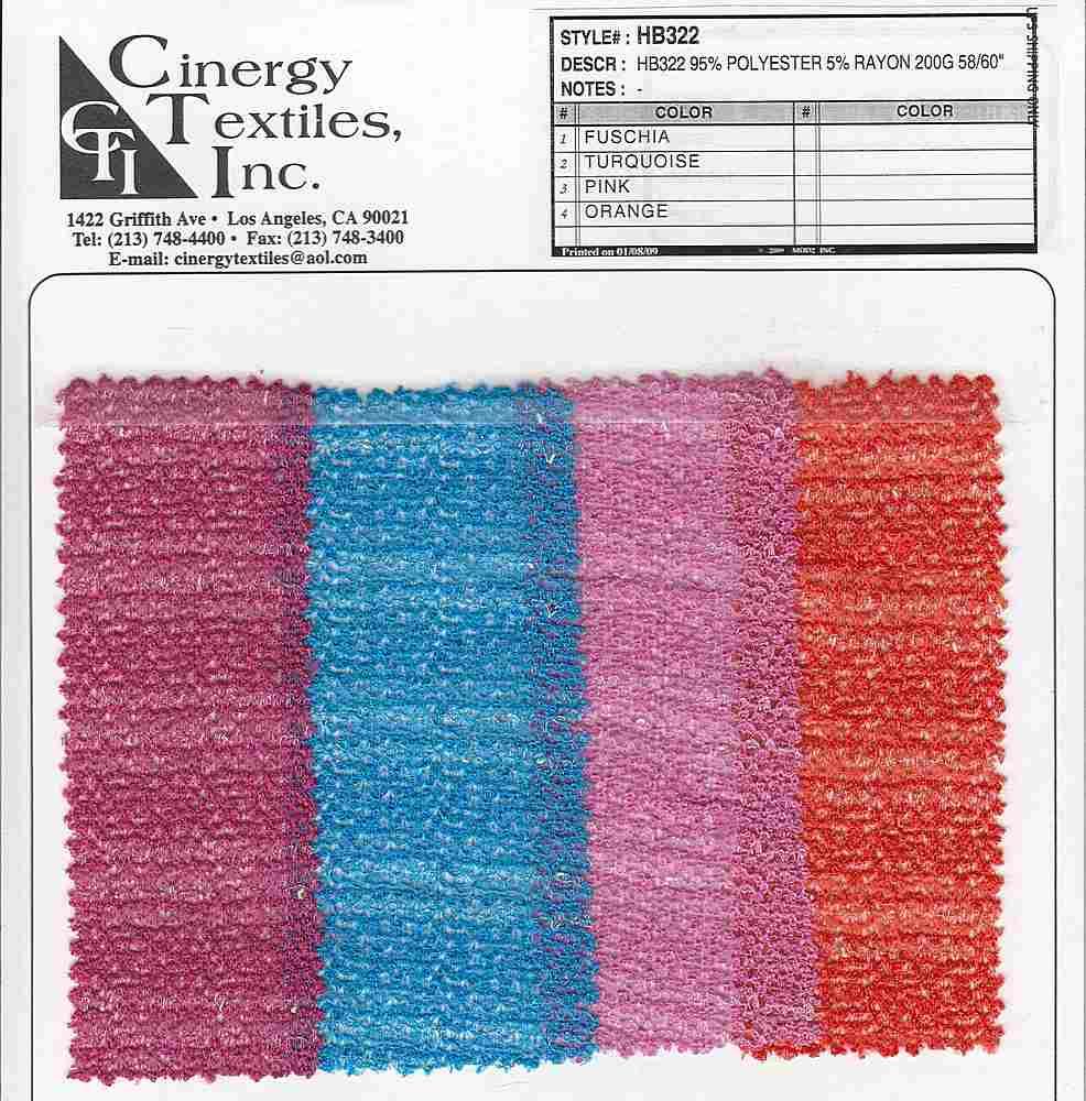 HB322 / Stripe Knit Mesh 95%Polyester 5%Rayon