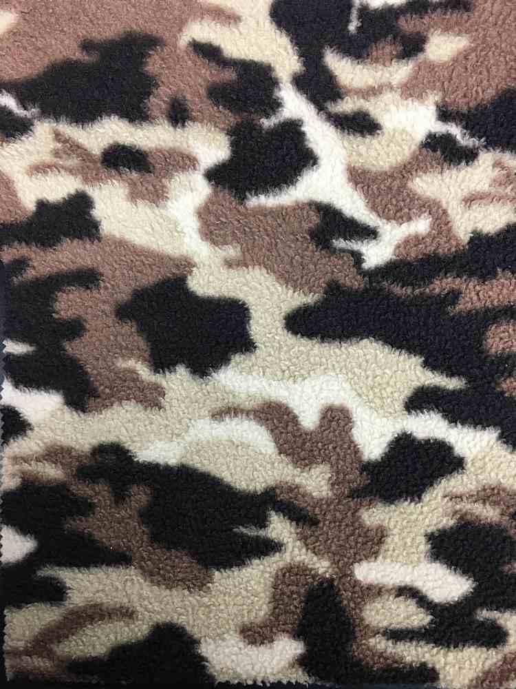 SHERP-FLC-19964 / Printed Sherpa Fleece 100%Polyester