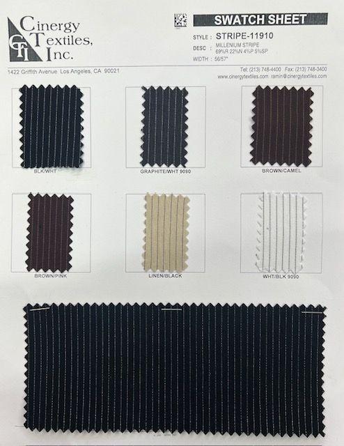 STRIPE-11910 / Millenium Stripe 69%R 22%N 4%P 5%SP
