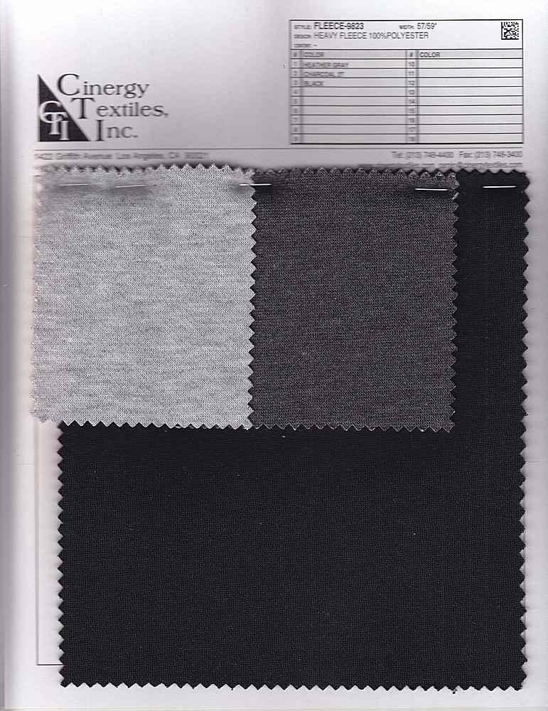 <h2>FLEECE-9823</h2> / FAMILY          / Heavy Fleece 100%Polyester