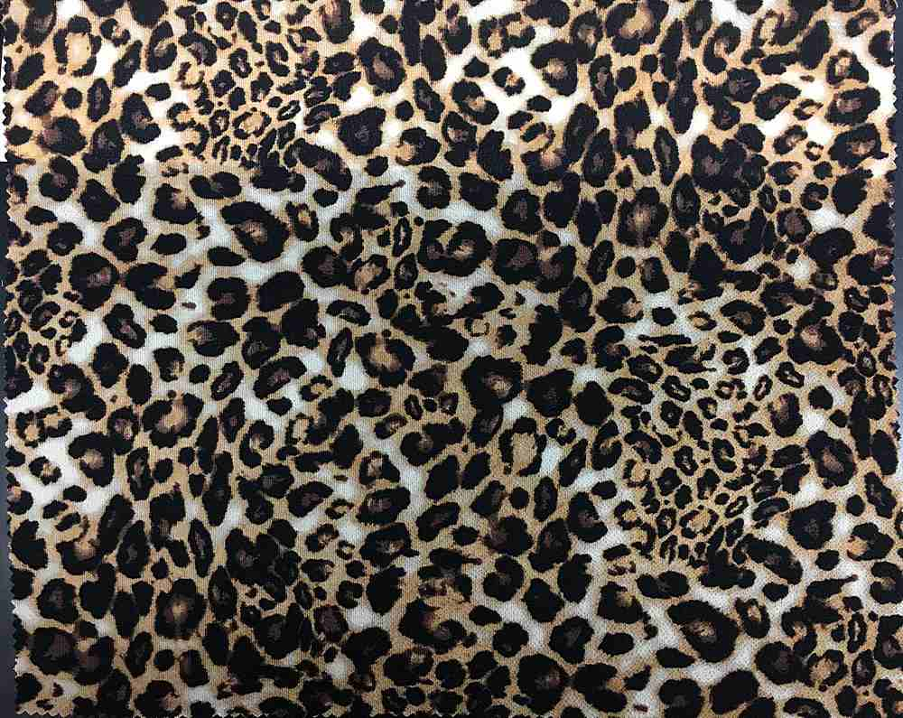 <h2>CREPE-MX165A</h2> / FAMILY          / Animal Print Bubble Crepe 97%Polyester 3%Spandex